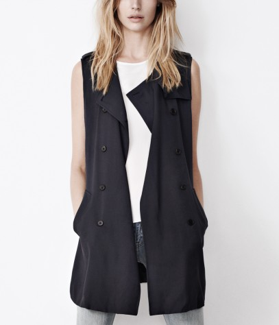 Suzette Sleeveless Trench
