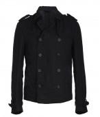 Linen Revenge Pea Coat