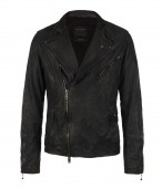Mast Biker Leather Jacket