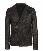 Drought Leather Biker Jacket