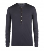 Clark Long Sleeved Henley