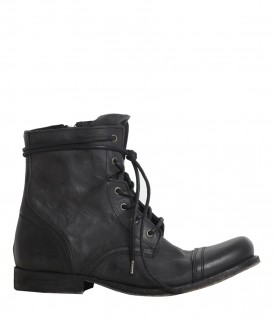 All Saints Cropped Military Boot