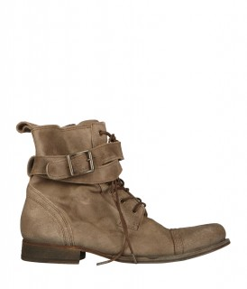 Strap Military Boot