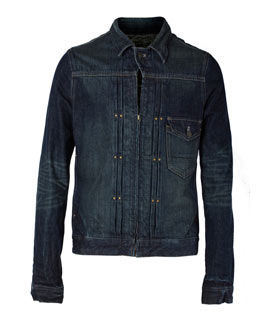 Slick BB Denim Zip Jacket