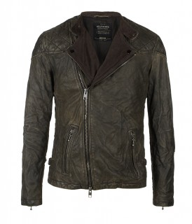 Convoy Leather Biker Jacket