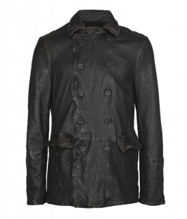 Bunker Leather Coat
