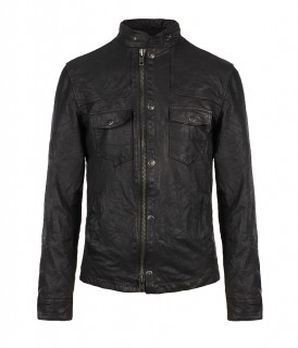 Archive Leather Jacket