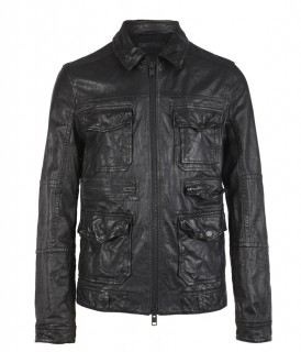 Forge Leather Jacket