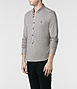 Saints Long Sleeved Henley 1, Men, T-shirts, AllSaints Spitalfields