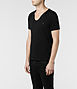 Tonic Scoop T-shirt 1, Men, T-shirts, AllSaints Spitalfields