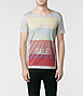 Blocking Cut Collar T-shirt, AllSaints Spitalfields