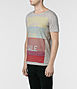 Blocking Cut Collar T-shirt 1, Men, Graphic T-Shirts, AllSaints Spitalfields