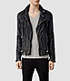 Conroy Leather Biker Jacket, AllSaints Spitalfields