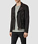Cargo Biker Leather Jacket 1, Men, Leathers, AllSaints Spitalfields