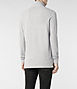 Sandringham Long Sleeved Polo 3, Men, Ramskull, AllSaints Spitalfields