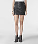 Leather Biker Pencil Skirt, AllSaints Spitalfields