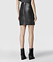 Lucille Leather Skirt 2, Women, Skirts, AllSaints Spitalfields