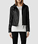 Belvedere Leather Jacket, AllSaints Spitalfields