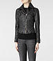 Belvedere Leather Jacket 3, Women, Leather, AllSaints Spitalfields