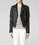 Walker Leather Biker Jacket 2, Women, Leather, AllSaints Spitalfields