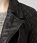 Walker Leather Biker Jacket 5, Women, Leather, AllSaints Spitalfields