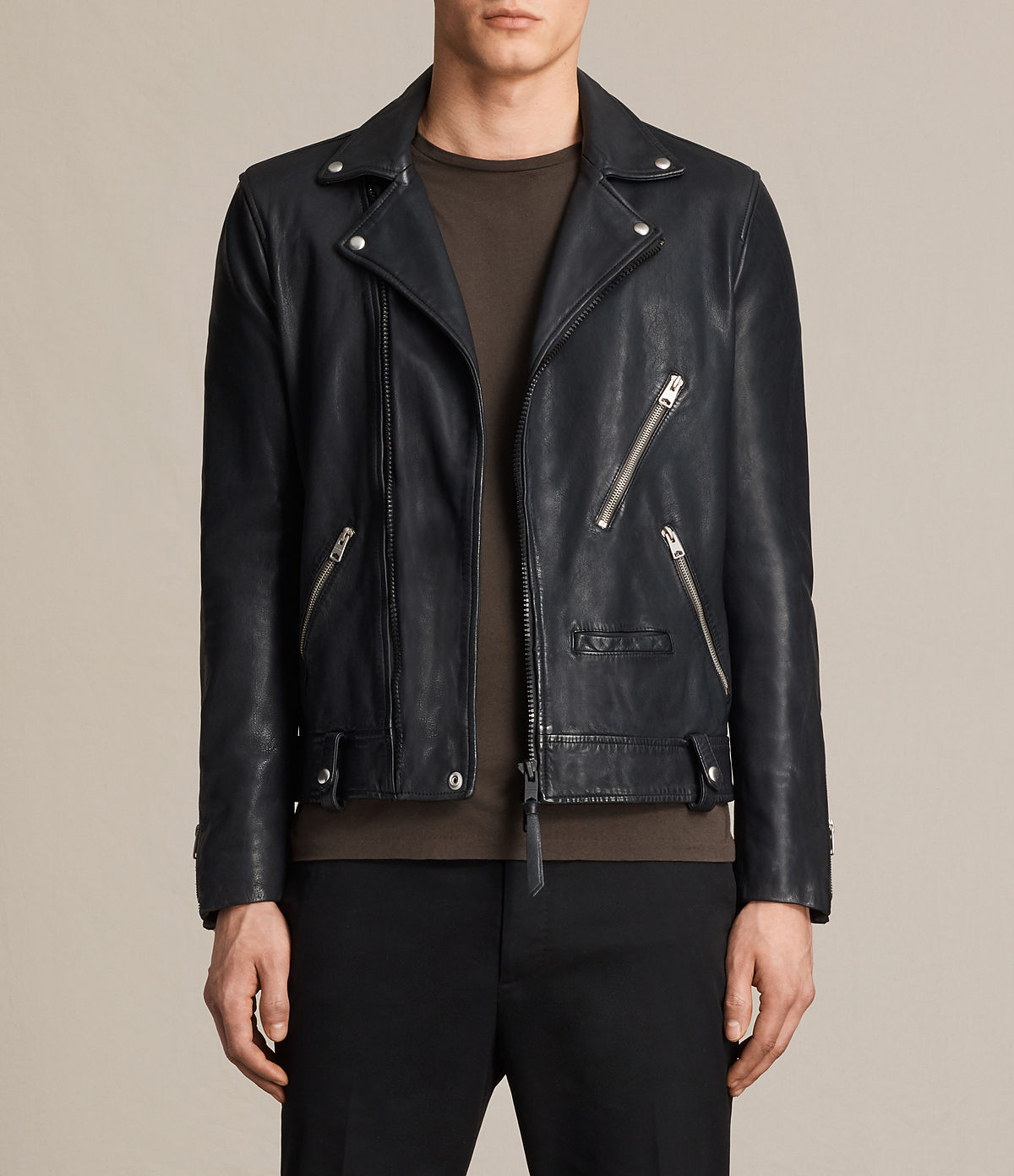 ALLSAINTS US: Leather jackets for men, shop now.