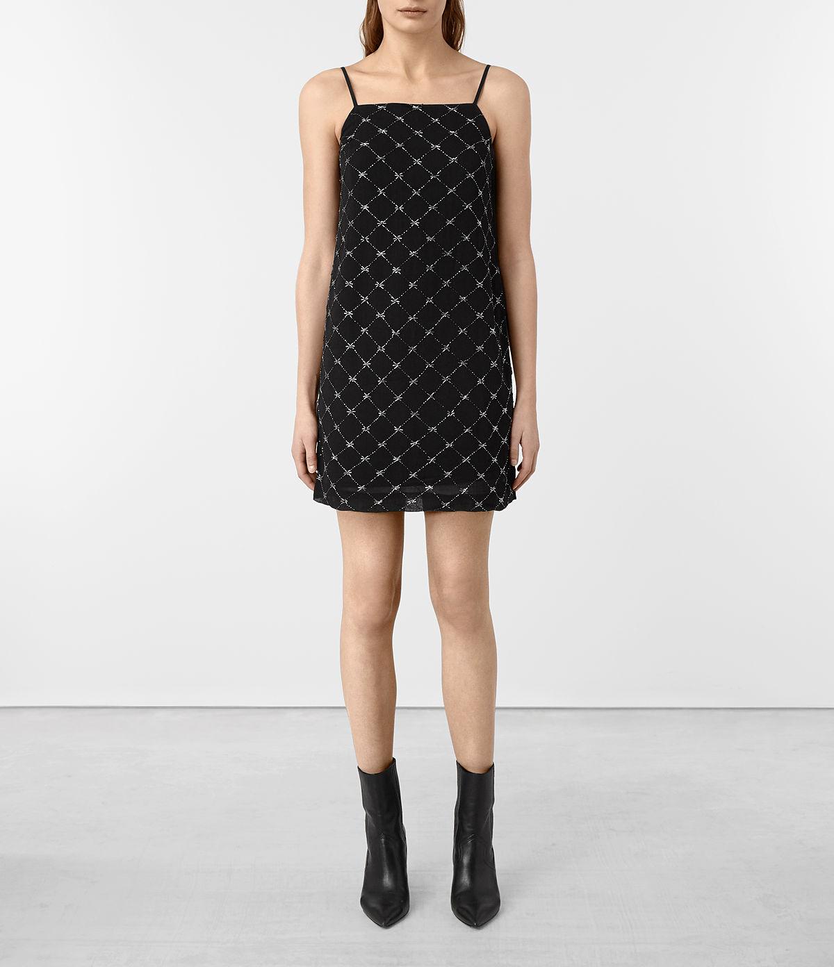 wire-embellished-slip-dress
