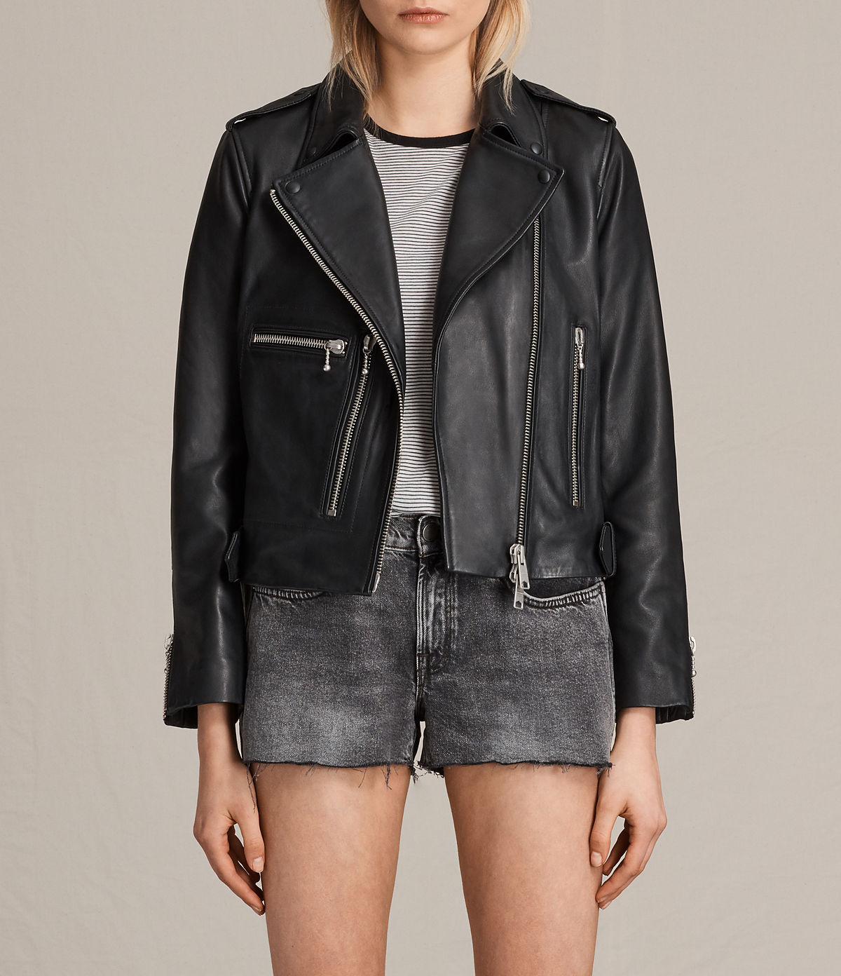 ALLSAINTS UK: Leather jackets for women, shop now.