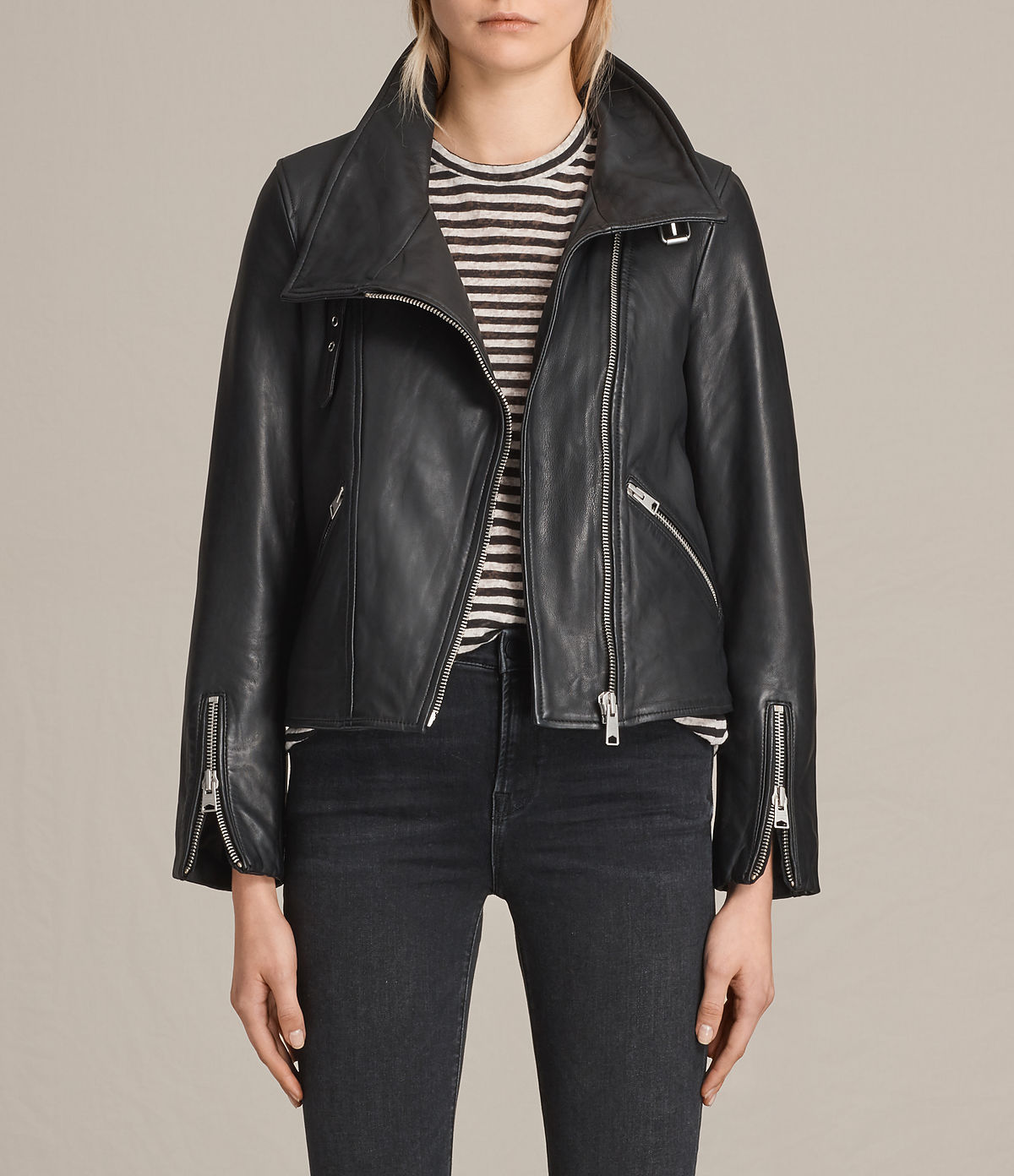 ALLSAINTS US: Leather jackets for women, shop now.