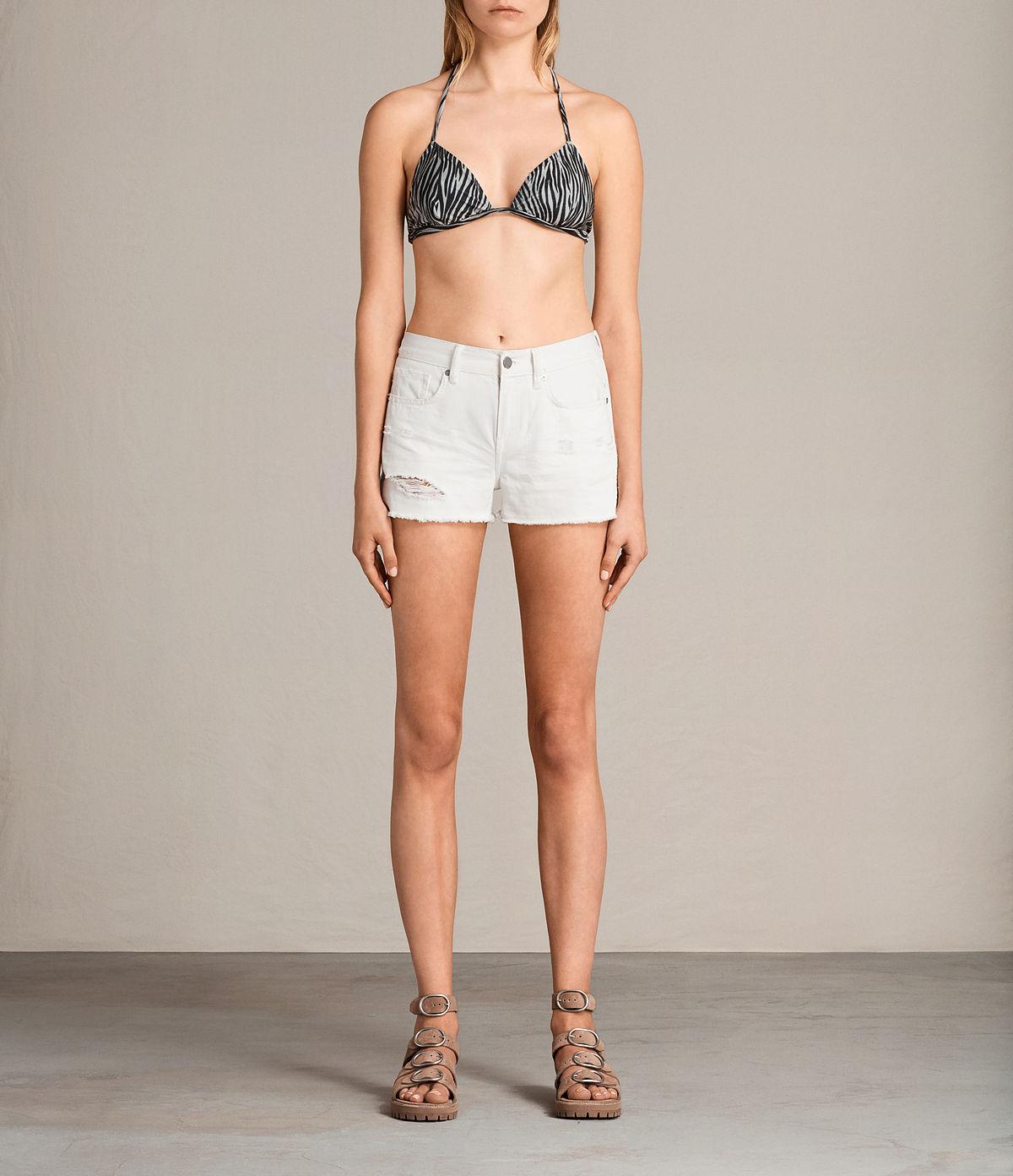 Haut de bikini Agnes Zebra