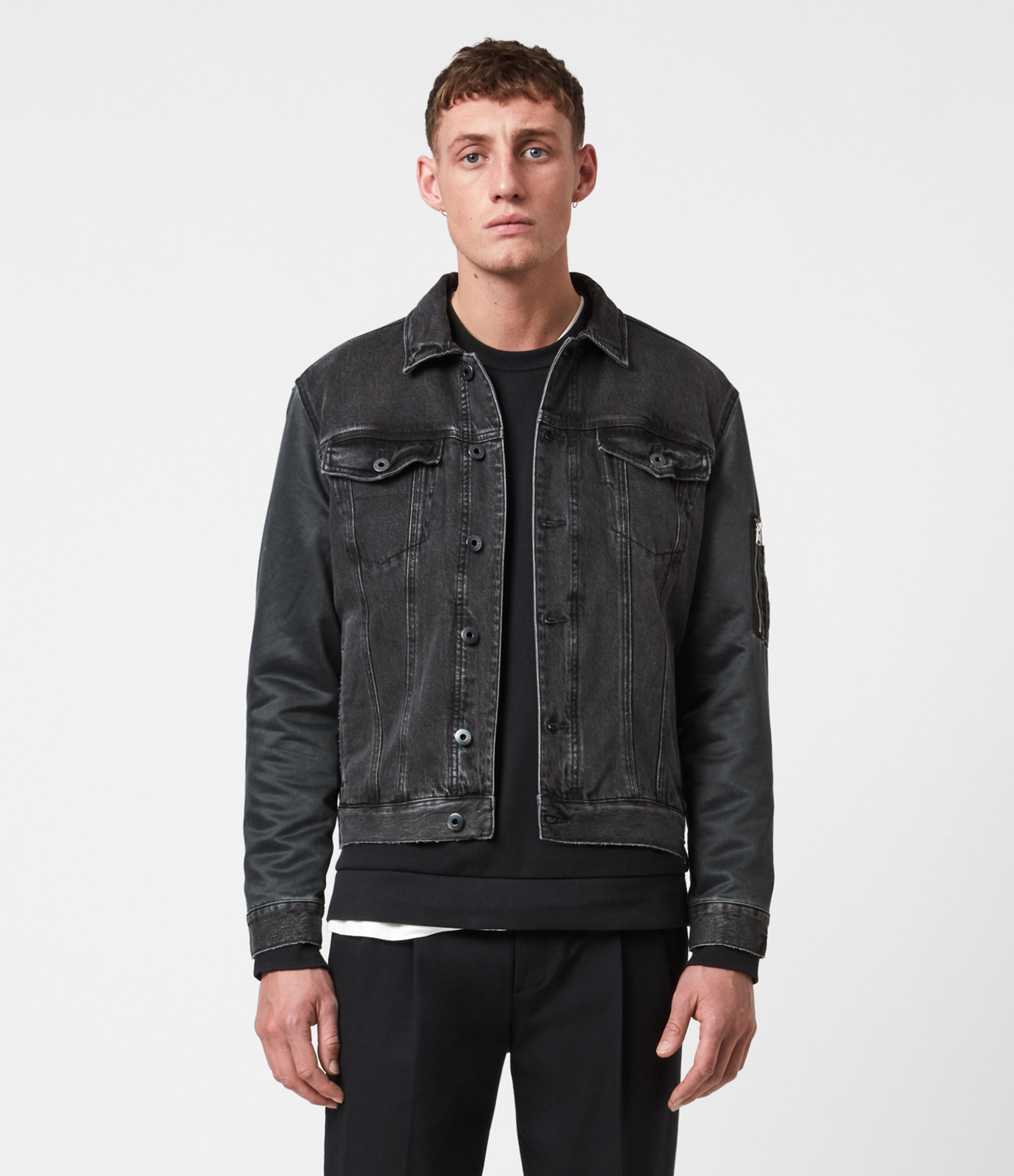 AllSaints Grove Denim Jacket
