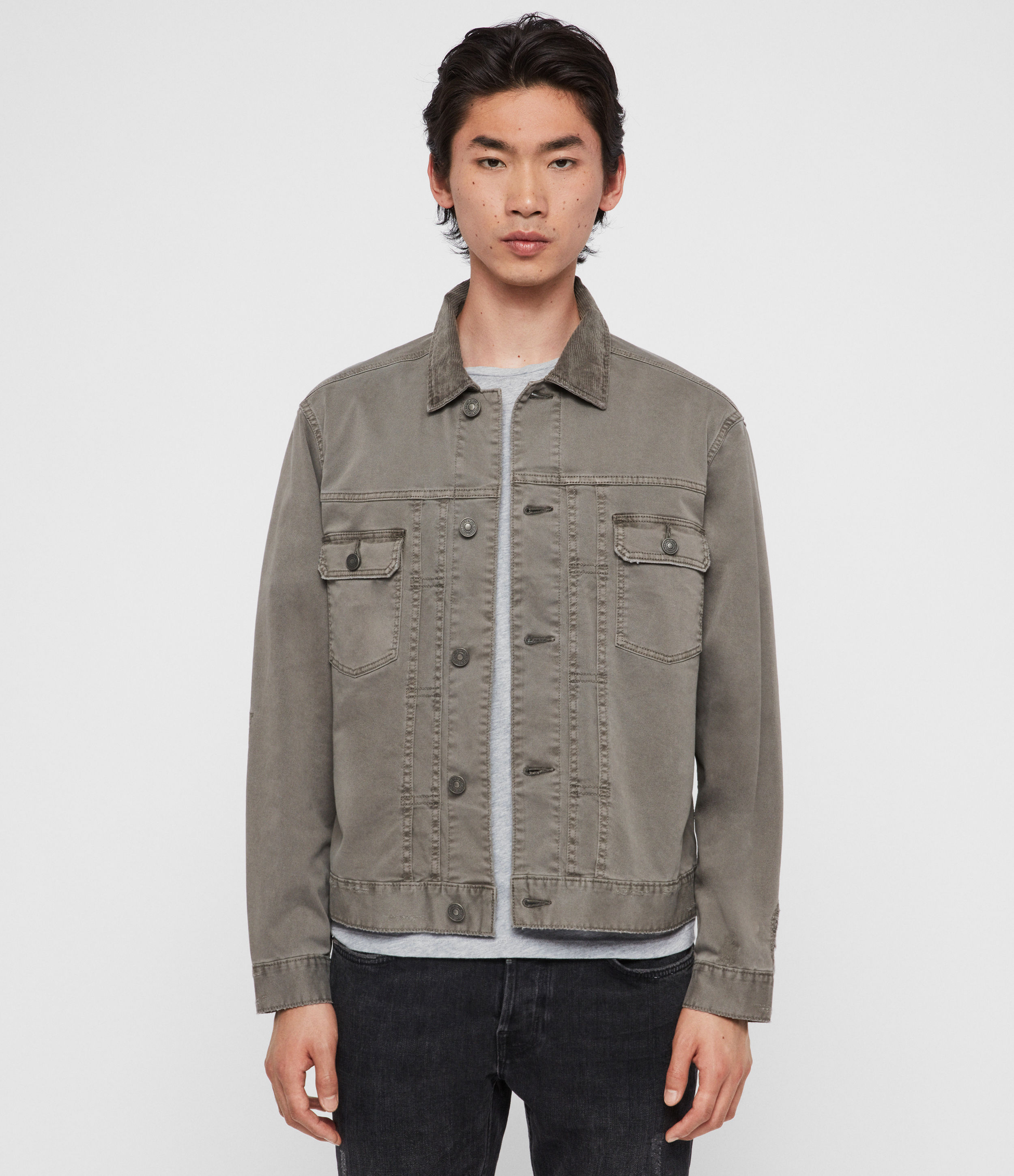 AllSaints Twidro Denim Jacket