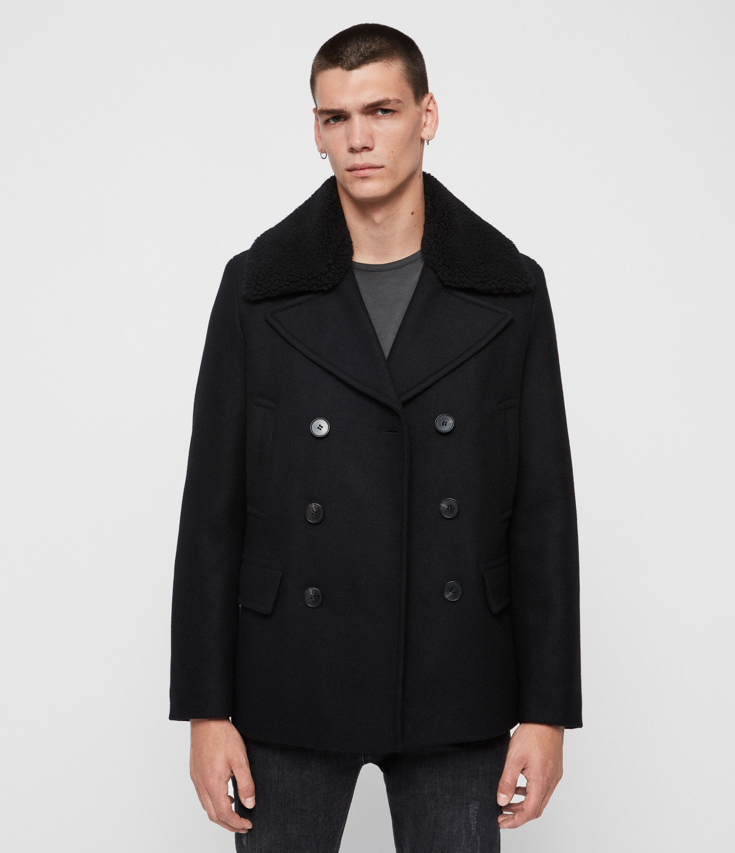 AllSaints Gregory Peacoat