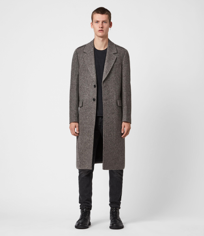 AllSaints Dunstan British Wool Coat