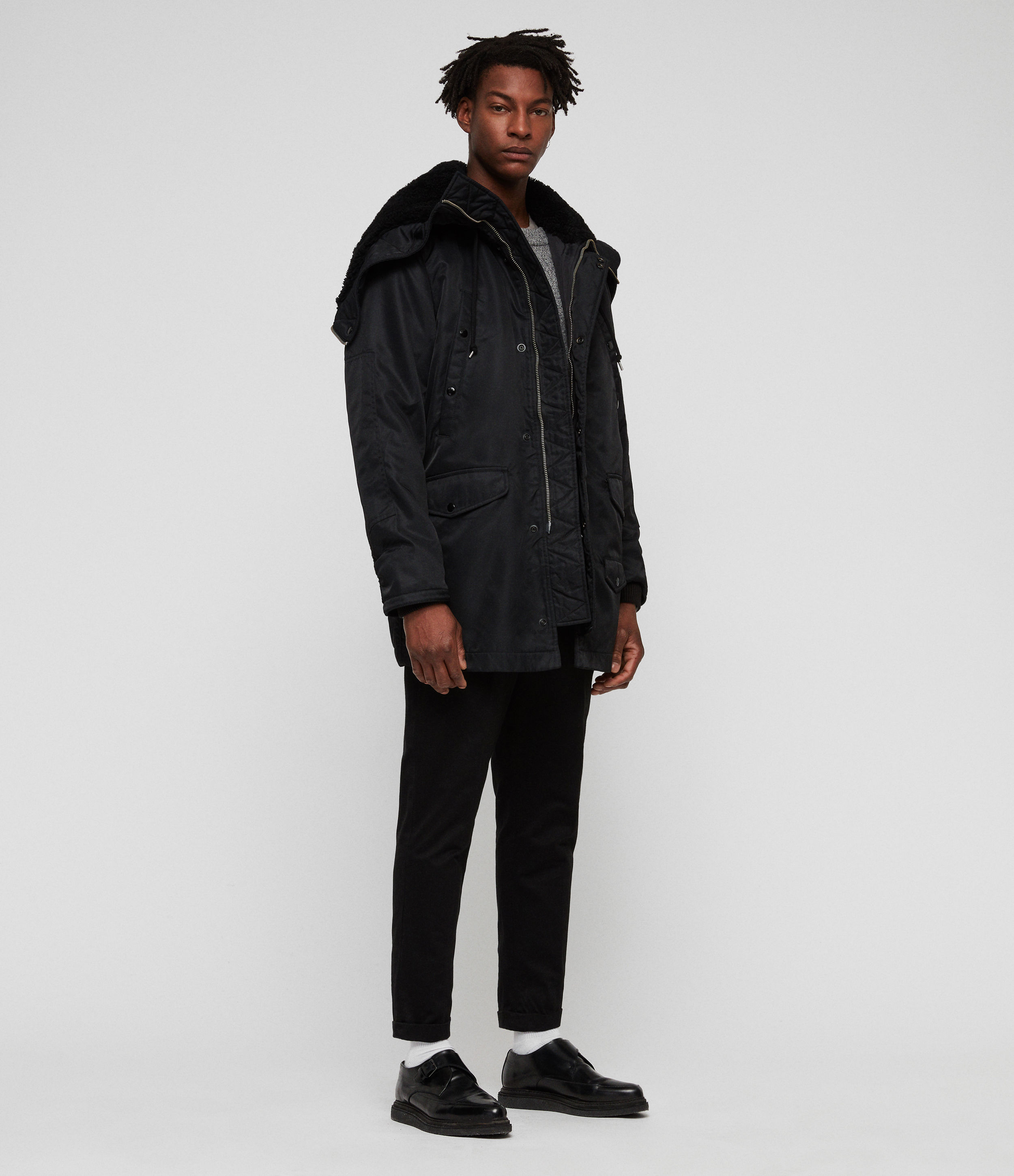 AllSaints Garth Parka Coat