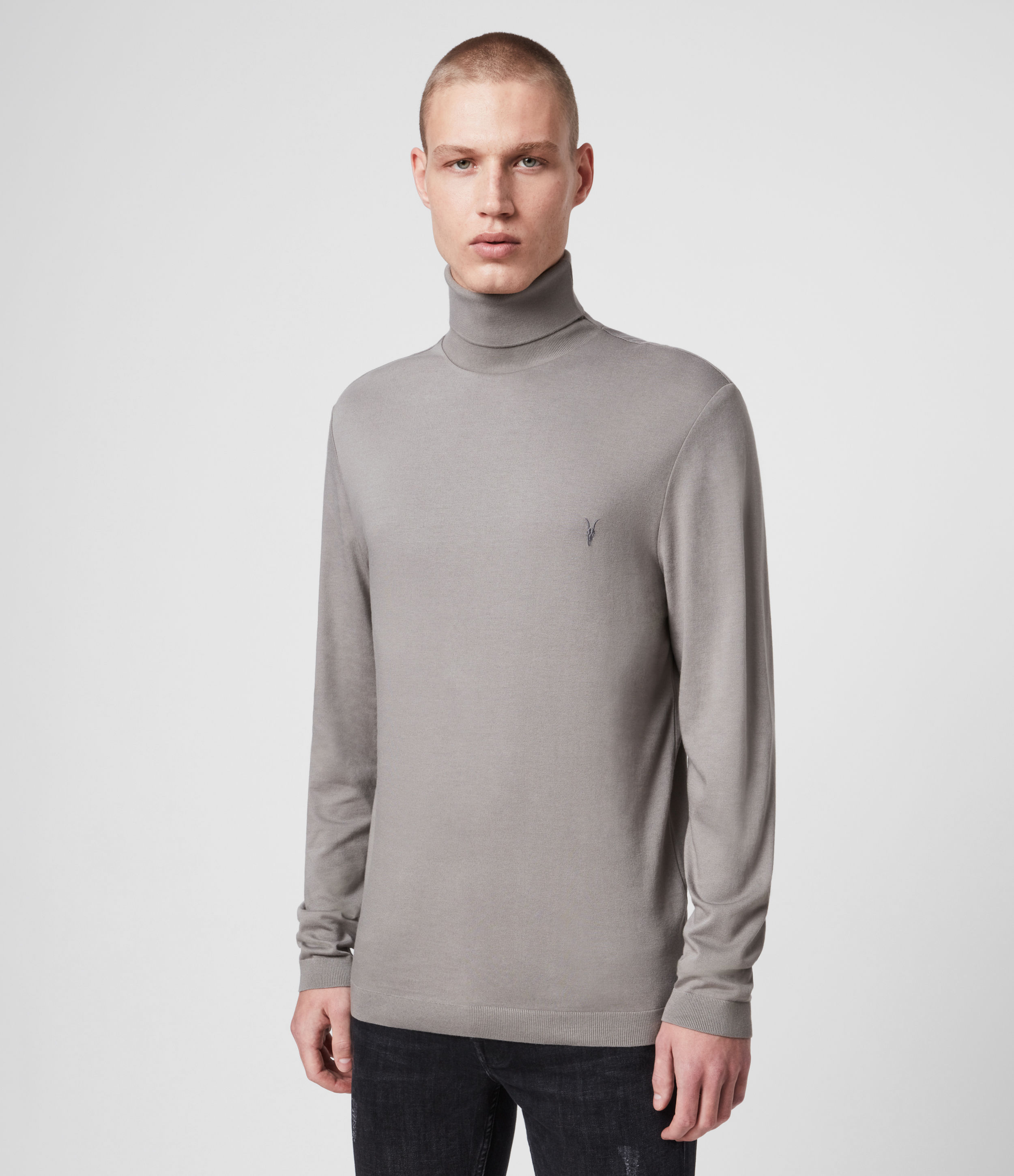 AllSaints Parlour Roll Neck Top