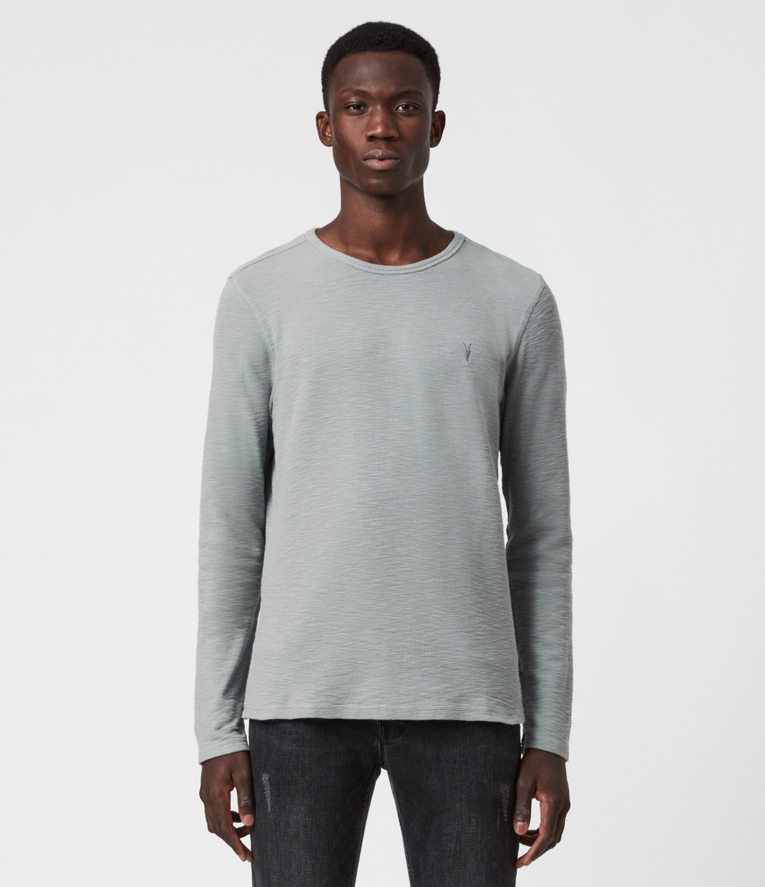 AllSaints Muse Long Sleeve Crew T-Shirt