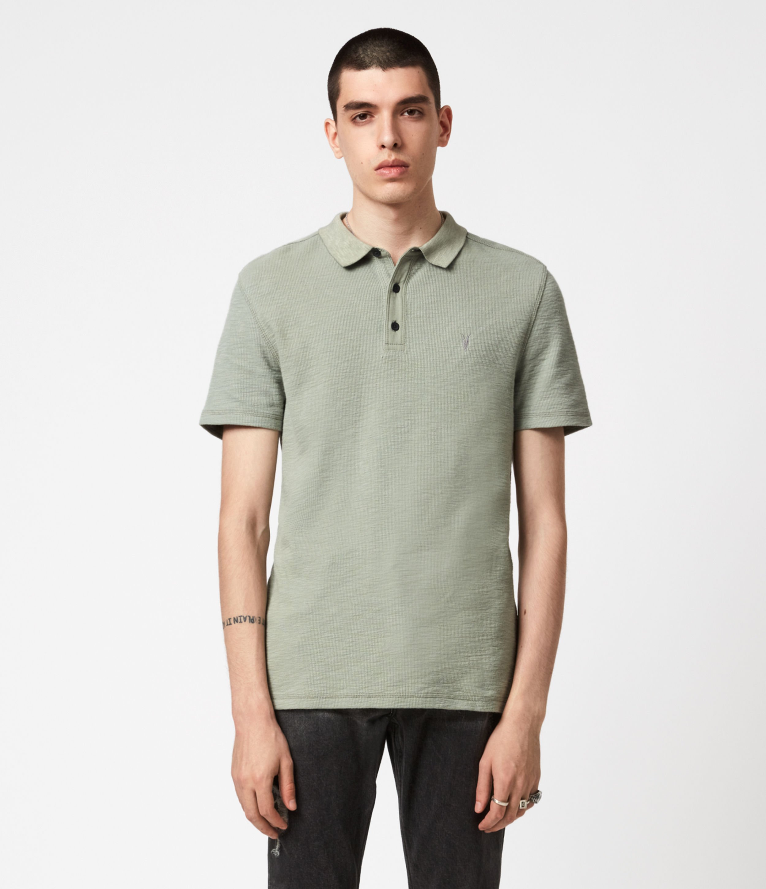 AllSaints Muse Polo Shirt
