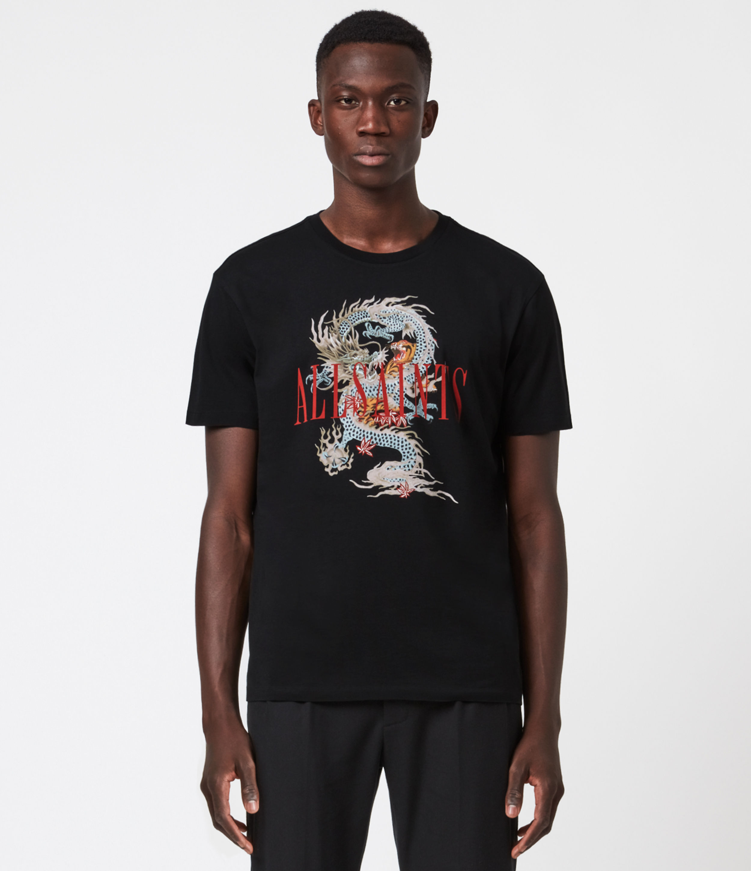 AllSaints DNA Crew T-Shirt