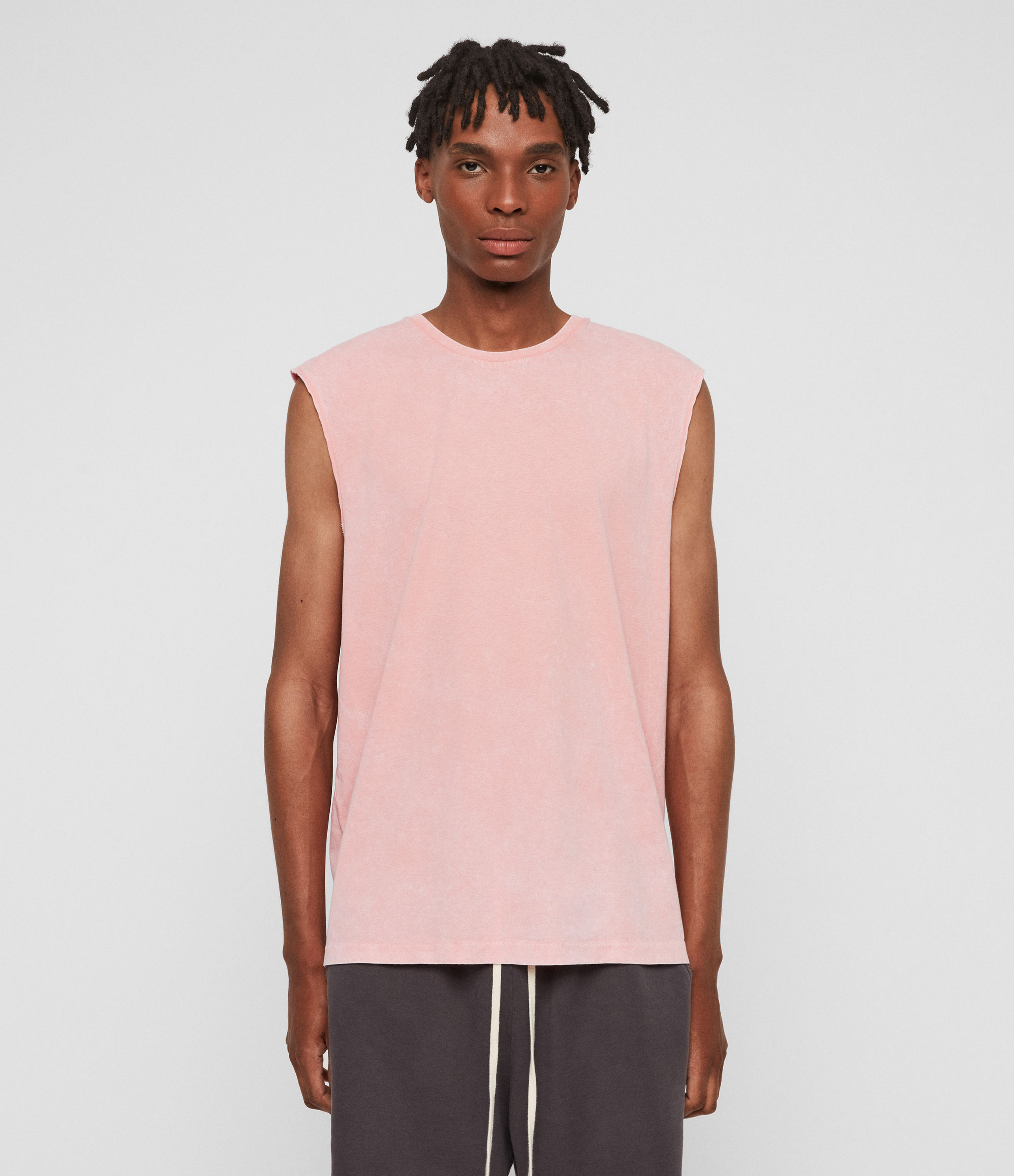 AllSaints Acetic Sleeveless Crew T-Shirt