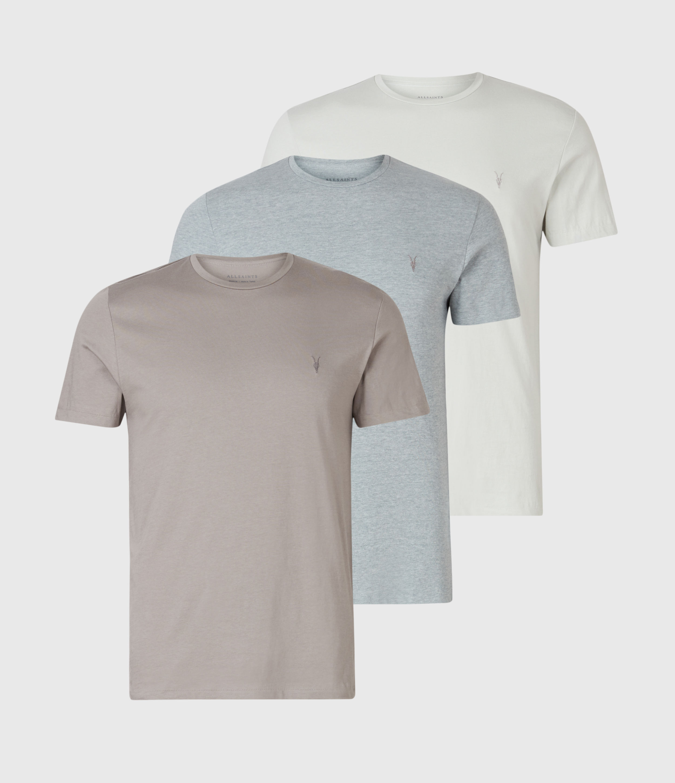 AllSaints Tonic Crew 3 Pack T-Shirts
