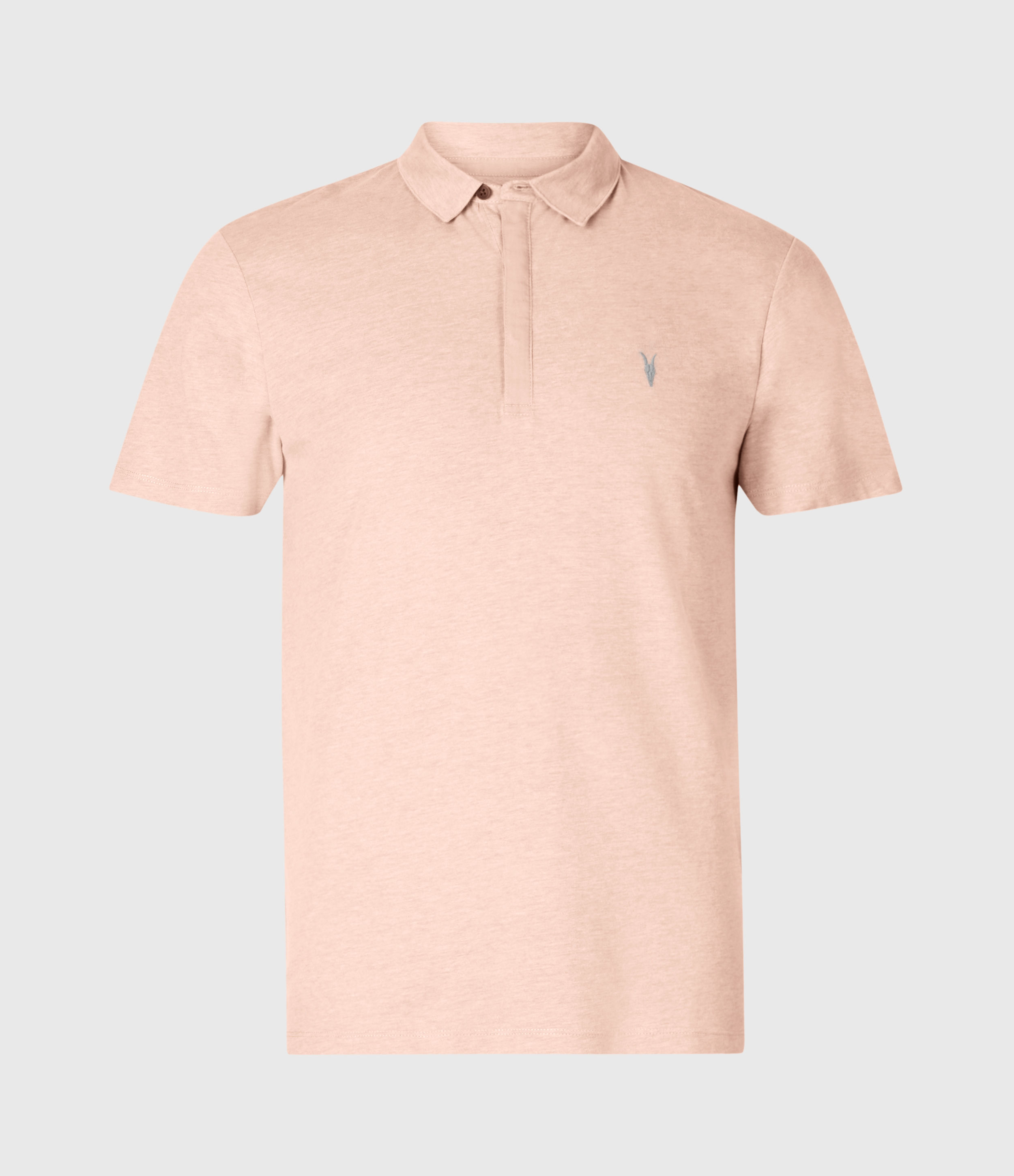 AllSaints Brace Short Sleeve Polo Shirt