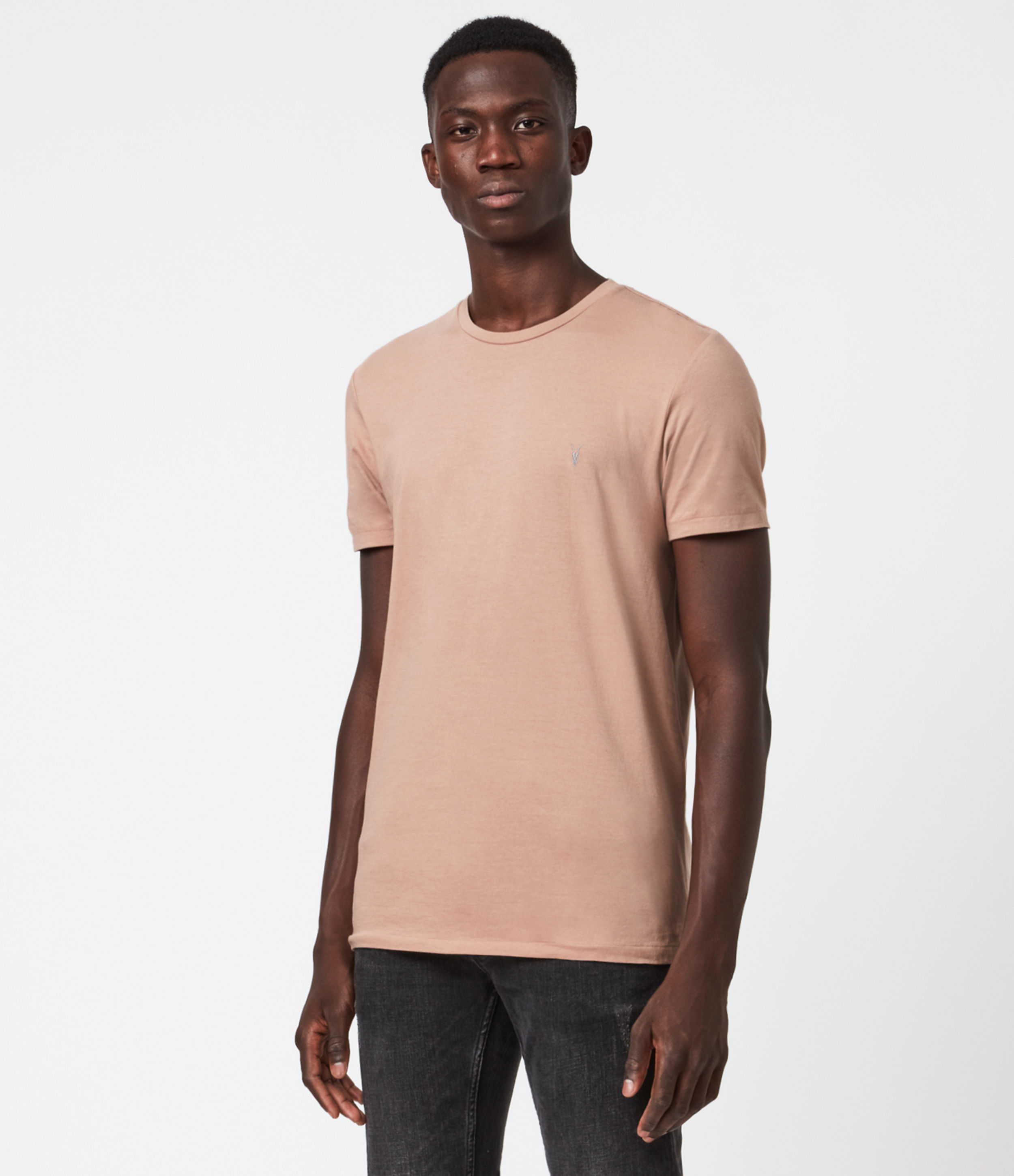 AllSaints Tonic Short Sleeve Crew T-Shirt