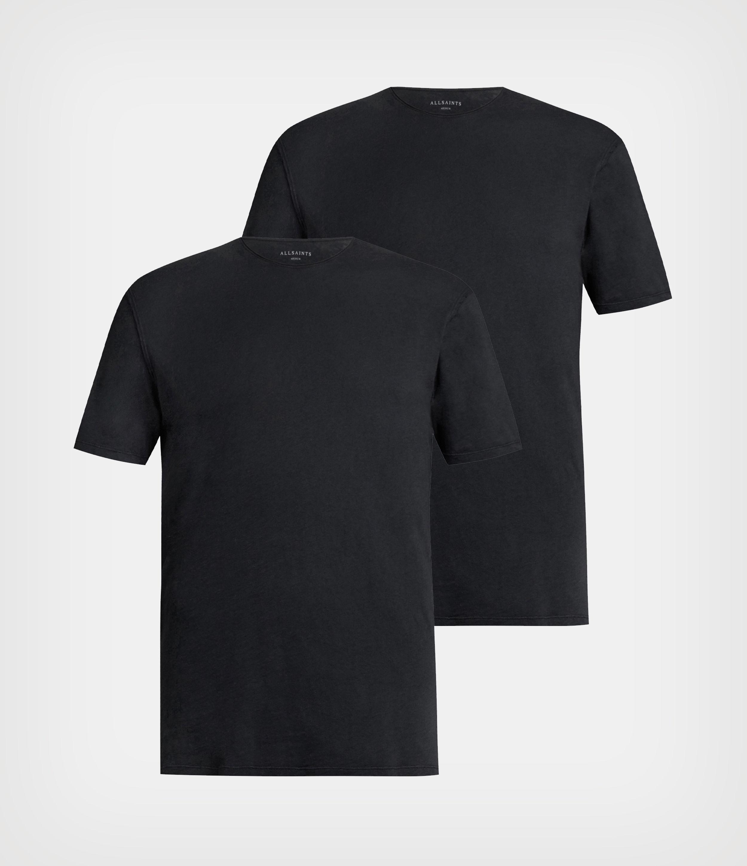 AllSaints Figure Crew 2 Pack T-Shirts