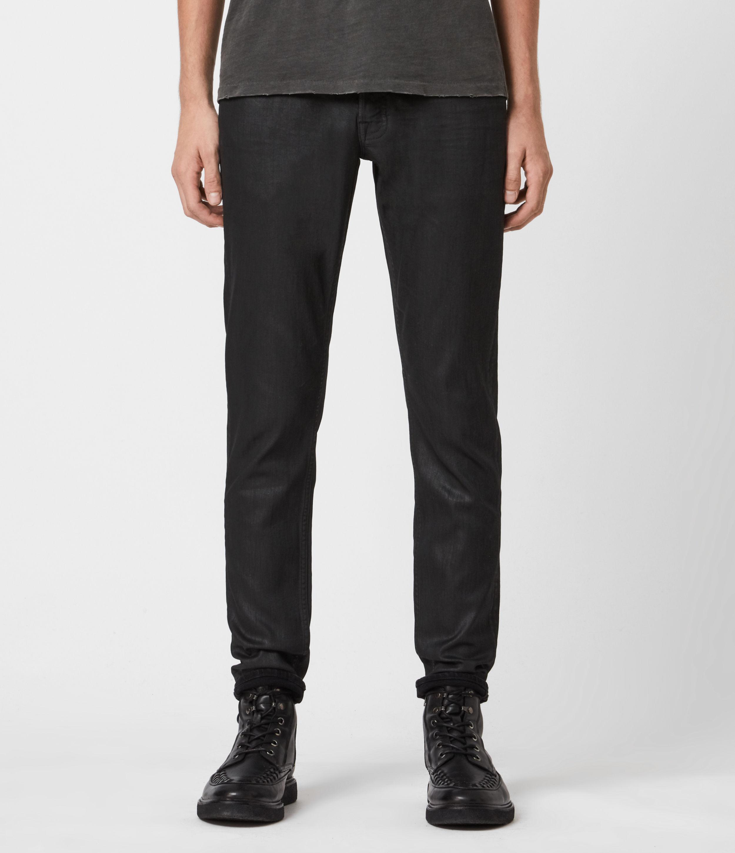 AllSaints Rex Slim Jeans, Black