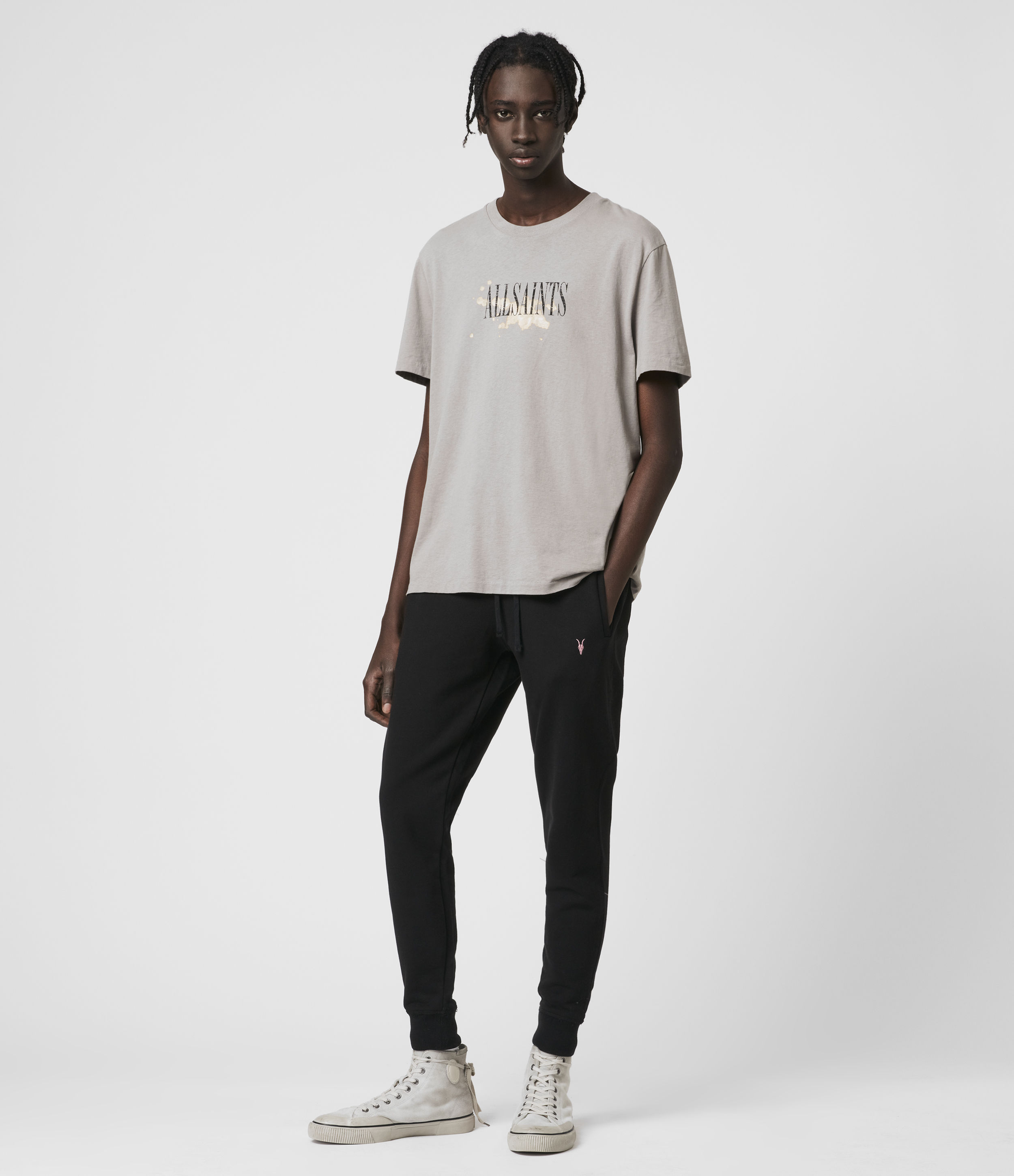 AllSaints Phoenix Cuffed Slim Sweatpants