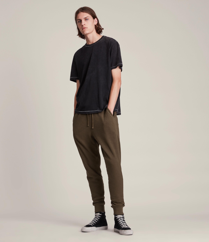AllSaints Men's Muse Cuffed Slim Sweatpants, Ranch Brown, Size: XXL