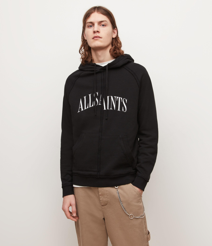 AllSaints Diverge Pullover Hoodie