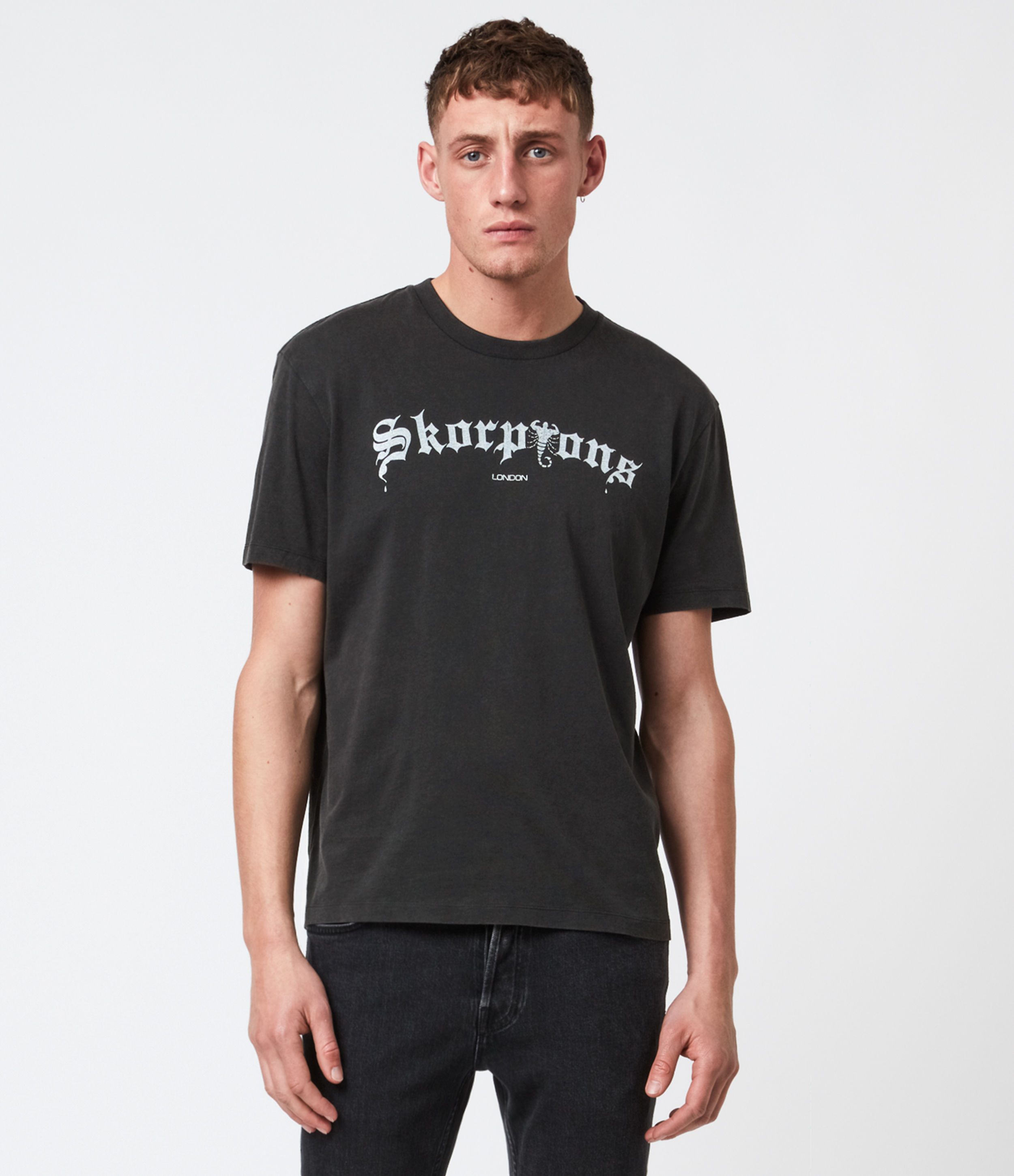 AllSaints Skorpions London T-Shirt
