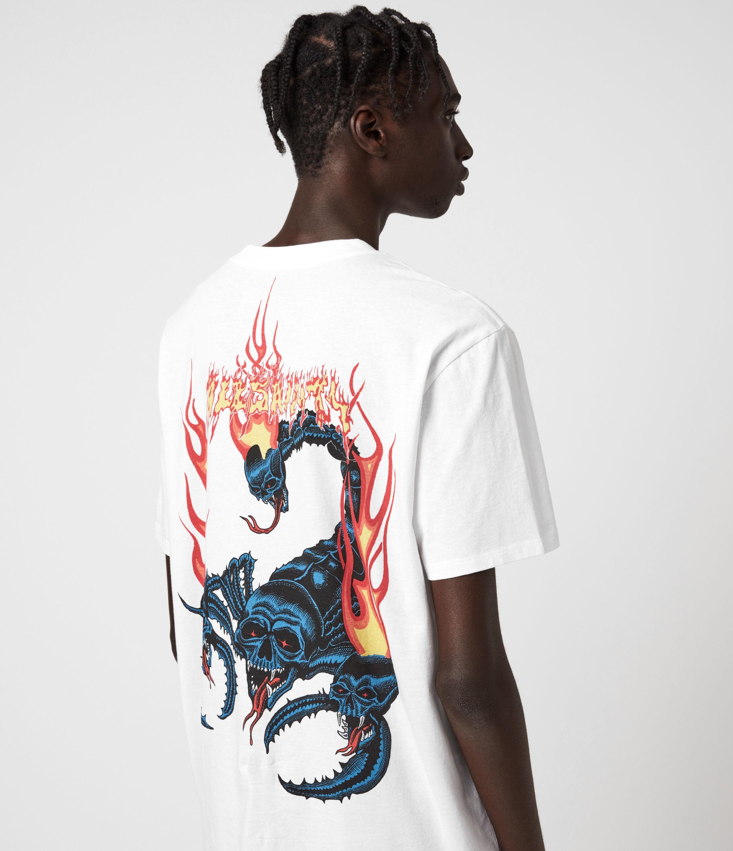 AllSaints Stinger Short Sleeve Crew T-Shirt